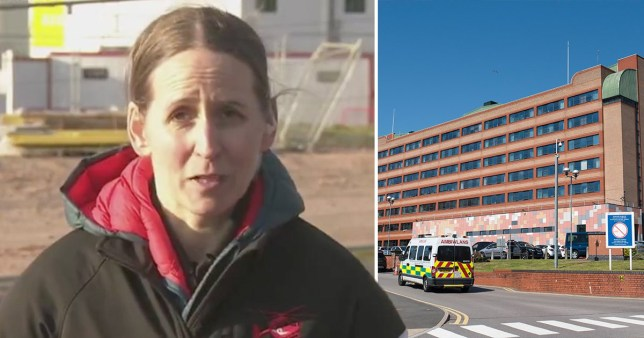 'My hospital is full of 20, 30 and 40 year olds with coronavirus - stay at home' (Picture: ITV, Getty)