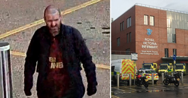 Hunt for man who stole NHS worker's bike outside hospital while she was working (Picture: North News)