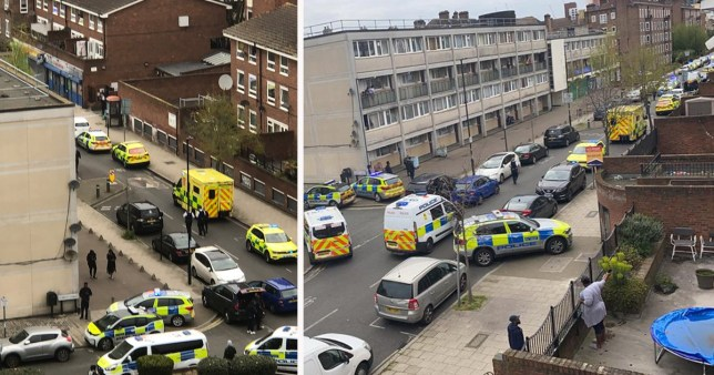 Six arrested after man, 44, and woman, 56, found stabbed to death at home