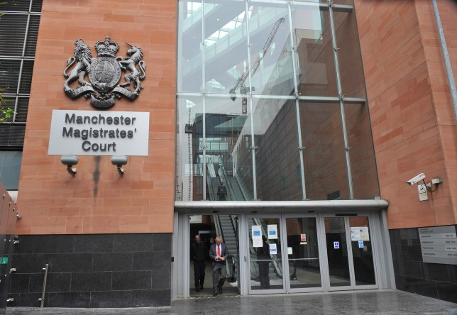 Caption: Manchester Magistrates' Court