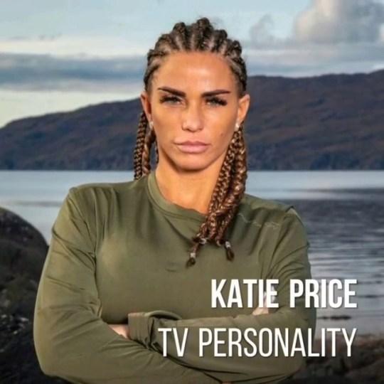Who Dares Wins celebrity Katie Price