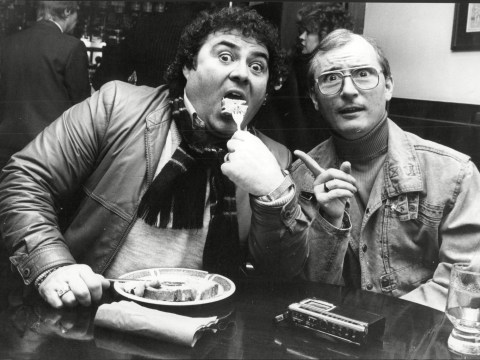 How long were Eddie Large and Syd Little a comedy double act as comedian dies aged 78?