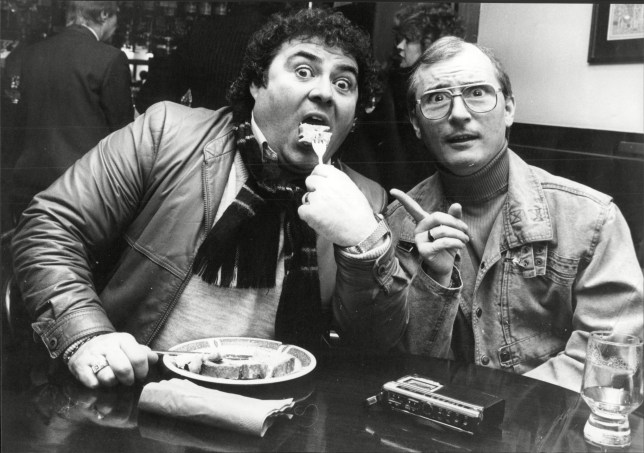 Syd Little And Eddie Large Comedy Double Act Known As Little And Large.