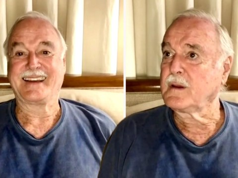 John Cleese, 80, joins Instagram to quell his 'quarantine boredom' and kicks things off with brilliant video
