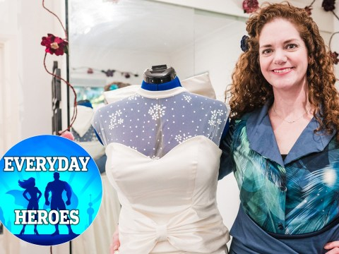 I'm making free wedding dresses for NHS brides-to-be