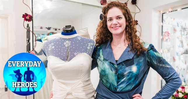 Everyday Heroes Holly Winter is offering free wedding dresses during the coronavirus pandemic