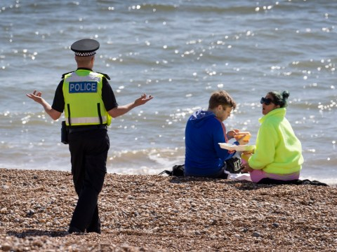 Brighton council warn social distancing 'impossible' as people flock to the seaside