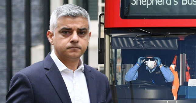 London Mayor Sadiq Khan 'absolutely devastated' by the deaths of five London bus drivers