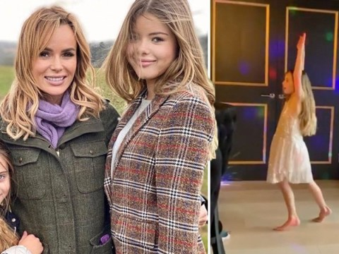 Amanda Holden throws epic Zoom disco for daughter Holly and her 31 'little friends'