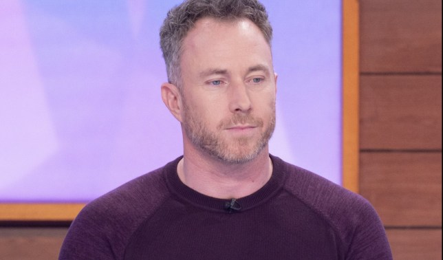 Editorial use only Mandatory Credit: Photo by Ken McKay/ITV/REX (10525365dg) James Jordan 'Loose Women' TV show, London, UK - 14 Jan 2020 GUESTS: FERTILITY WEEK: JAMES AND OLA JORDAN James and Ola Jordan are the ex-professional Strictly couple, who have had a long road to parenthood. However, the couple?s three-year wait came to an end last summer when Ola fell pregnant after undergoing IVF treatment. As part of our fertility week, James and Ola will be joining the panel to share their experience of the final months of Ola?s pregnancy and their nerves of becoming a family of three!