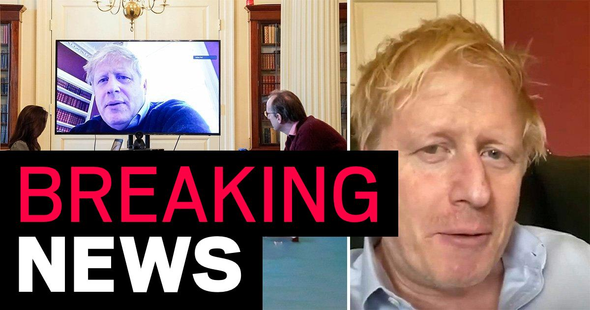 Boris Johnson tweets from his hospital bed saying he's 'in good spirits'
