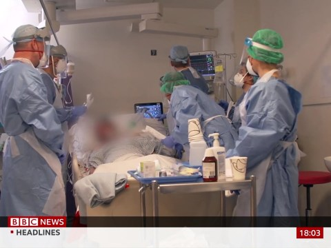 BBC hit with complaints over 'inappropriate' footage of coronavirus patients in intensive care ward
