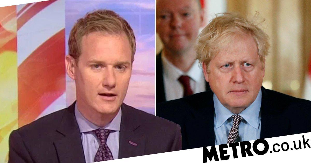 Dan Walker slams trolls abusing Boris as PM remains in critical care