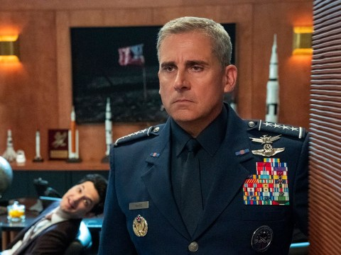 Steve Carell says his Netflix comedy Space Force is 'politically fluid'