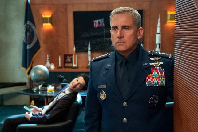 SPACE FORCE starring Steve Carell