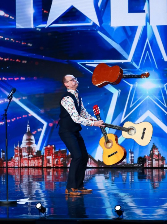 STRICT EMBARGO - NO USE BEFORE 00:01BST SATURDAY 11TH APRIL 2020 - Editorial Use Only. No Book Publishing. Mandatory Credit: Photo by Dymond/Thames/Syco/REX (10608203g) Steve Royle 'Britain's Got Talent' TV Show, Series 14, Episode 1, UK - 11 Apr 2020