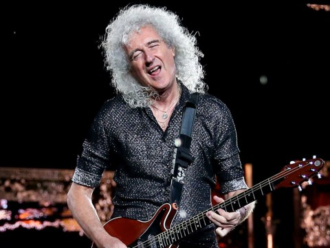 Coronavirus: Matt Lucas joins forces with Queen legend Brian May as they rock out to Baked Potato song