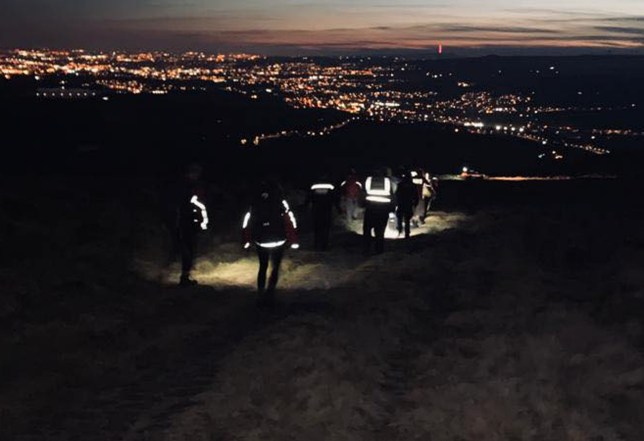 Oldham Mountain Rescue Team (OMRT) of a three-hour late-night operation to assist an injured woman on moorland.