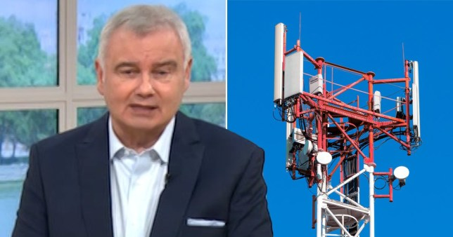 Downing Street says 5G conspiracy touted by Eamonn Holmes is 'complete nonsense' Pics: ITV/Getty
