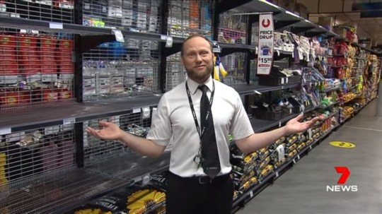 Picture of supermarket boss John-Paul Drake