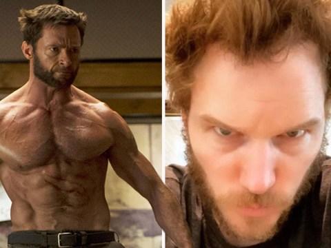 Chris Pratt goes full quarantine Wolverine in lockdown – and Hugh Jackman's a fan