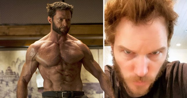 Chris Pratt has gone all wolverine with his new look - and hugh jackman approves