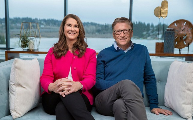 Mandatory Credit: Photo by Xinhua/REX (10104757a) Bill Gates (rt) and Melinda Gates pose for a photo after annotating the 2019 annual letter Bill Gates and Melinda Gates annual letter, Kirkland, Washington D.C., USA - 08 Feb 2019 Bill and Melinda Gates released their 2019 annual letter on Feb. 12 and a video speech was exclusively broadcast via Xinhua. Bill Gates, co-chair of the Bill & Melinda Gates Foundation, said Tuesday that exciting progress against poverty and disease around the world has been made in 2018, and China has been a major contributor to this progress. Bill Gates has called for strengthened investment in innovation in key areas so that related industries can continue to develop without worsening climate change. In their 2019 annual letter, Bill and Melinda Gates shared nine things that have surprised them over the course of their nearly two decades of work together in global health and development.