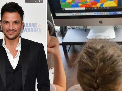 Peter Andre hires a tutor after struggling to help six-year-old daughter with her homework