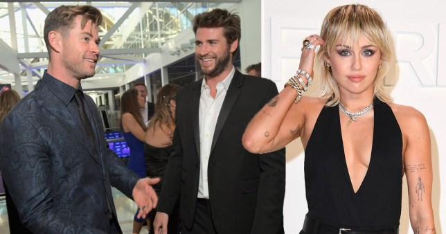 Chris Hemsworth thrilled Liam left Malibu (translation Miley Cyrus)
