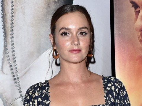 Leighton Meester hits back at fan who called her 'fat' as pregnancy rumours continue to swirl