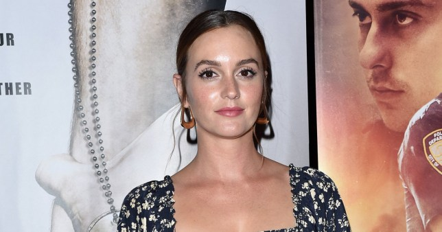 Leighton Meester attends the Special Screening of Semper Fi
