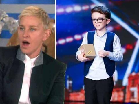 Britain's Got Talent's Aidan McCann stunned Ellen Degeneres with his magic on her show twice