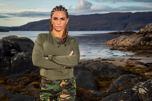 Embargoed to 0001 Monday April 20 Undated handout photo of Katie Price, who is taking part in the new series of Channel 4's Celebrity SAS: Who Dares Wins. PA Photo. Issue date: Monday April 20, 2020. See PA story SHOWBIZ SAS. Photo credit should read: Channel 4/PA Wire NOTE TO EDITORS: This handout photo may only be used in for editorial reporting purposes for the contemporaneous illustration of events, things or the people in the image or facts mentioned in the caption. Reuse of the picture may require further permission from the copyright holder.