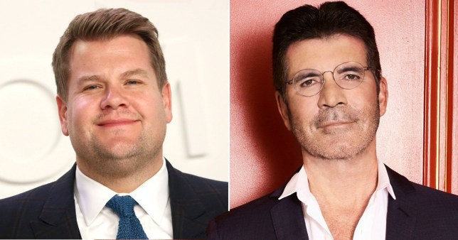 Simon Cowell and James Corden fighting for One Direction's TV comeback