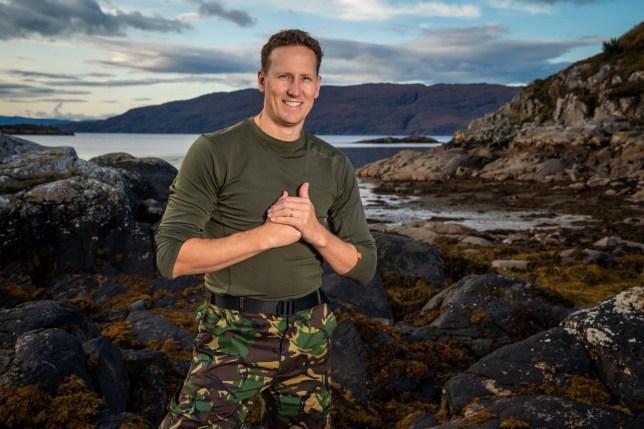 Brendan Cole on SAS Who Dares Wins