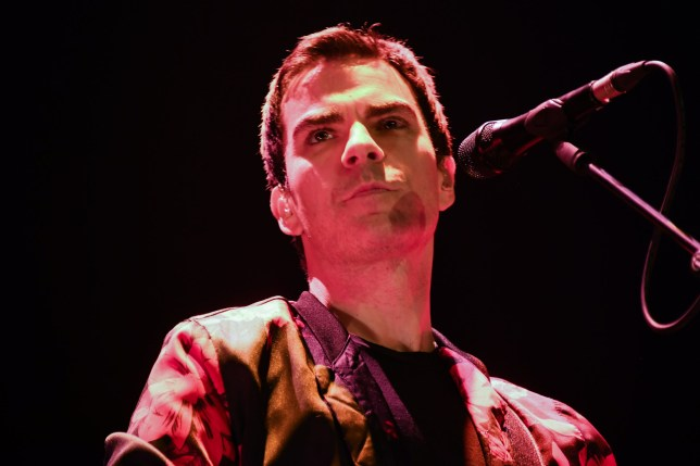 Welsh rock band Stereophonics perform on stage at the O2 Arena in London on March 6, 2020. The band consists of Kelly Jones (lead vocals, lead guitar, keyboards), Richard Jones (bass guitar, piano, backing vocals), Adam Zindani (rhythm guitar, backing vocals), Jamie Morrison (drums, percussion). (Photo by Alberto Pezzali/NurPhoto via Getty Images)