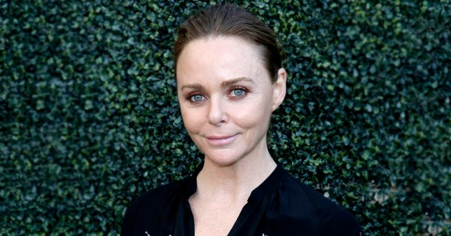 LONDON, ENGLAND - JULY 12: Stella McCartney attends as Bob Dylan and Neil Young perform onstage as part of a historic double bill at Hyde Park on July 12, 2019 in London, England. (Photo by John Phillips/Getty Images)