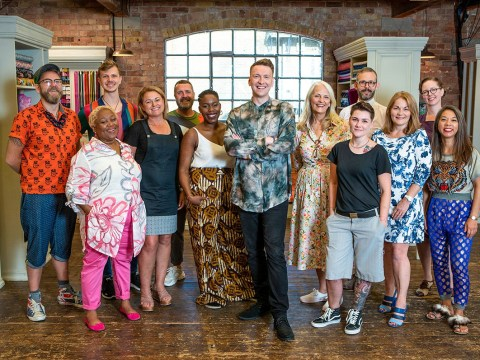 The Great British Sewing Bee star axed after tense Holiday Week challenge