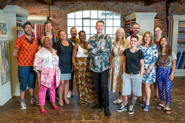 Sewing Bee contestants