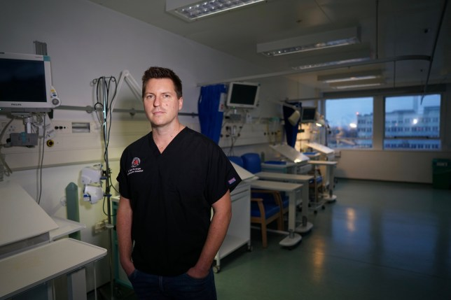 Please mention - 'Critical: Stories from the front line of intensive care medicine by Dr Matt Morgan (Simon & Schuster) is out in paperback on 30th April.' Pics sent via PR No credit