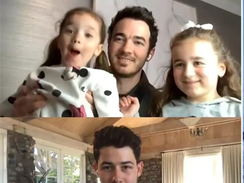 Kevin Jonas' daughters crash Jimmy Fallon appearance and our hearts have melted