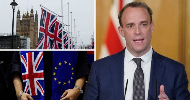 Raab insists UK must 'double down' and get Brexit done in December