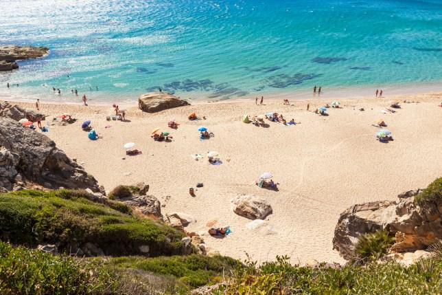 Zahara de los Atunes coast line in the Cadiz province, Andalucia, Spain