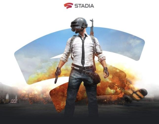 PUBG Stadia key art