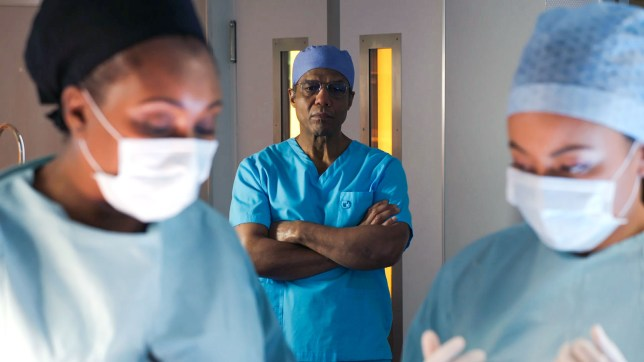 Max and Ric in Holby City