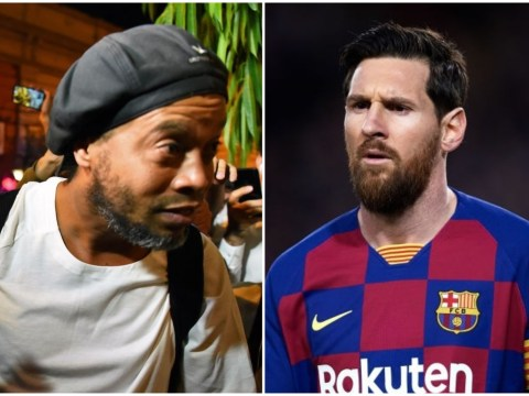 Lionel Messi responds to claims he bailed out Ronaldinho from jail for £1.3m