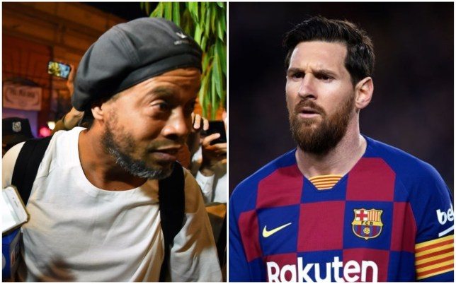 Reports claimed Lionel Messi helped Ronaldinho get out of jail in Paraguay