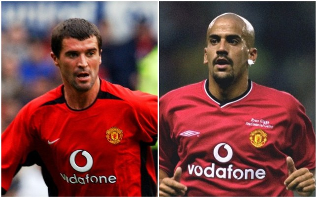 Roy Keane admits he relished the prospect of competing against Juan Veron in Manchester United training