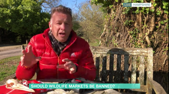 Chris Packham This Morning