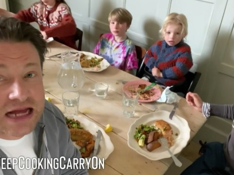 Jamie Oliver teaches you how to make your own healthy fish fingers and perfect sweet potato fries for the kids